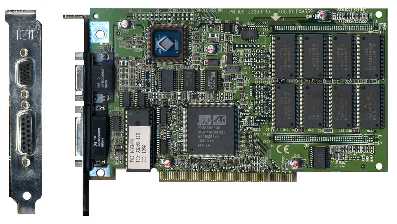 中古 ATI MACH64 PCI Mac Edition PCI グラフィックカード