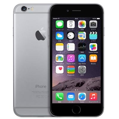 Apple Softbank iPhone 6 A1586 (MG4F2J/A) 64GB スペースグレイ